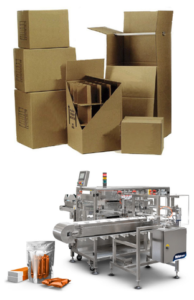 packaging boxes and automated packaging machine