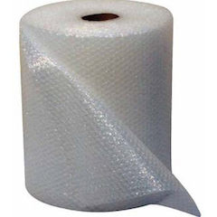 Bubblewrap Moving and Storage Packaging