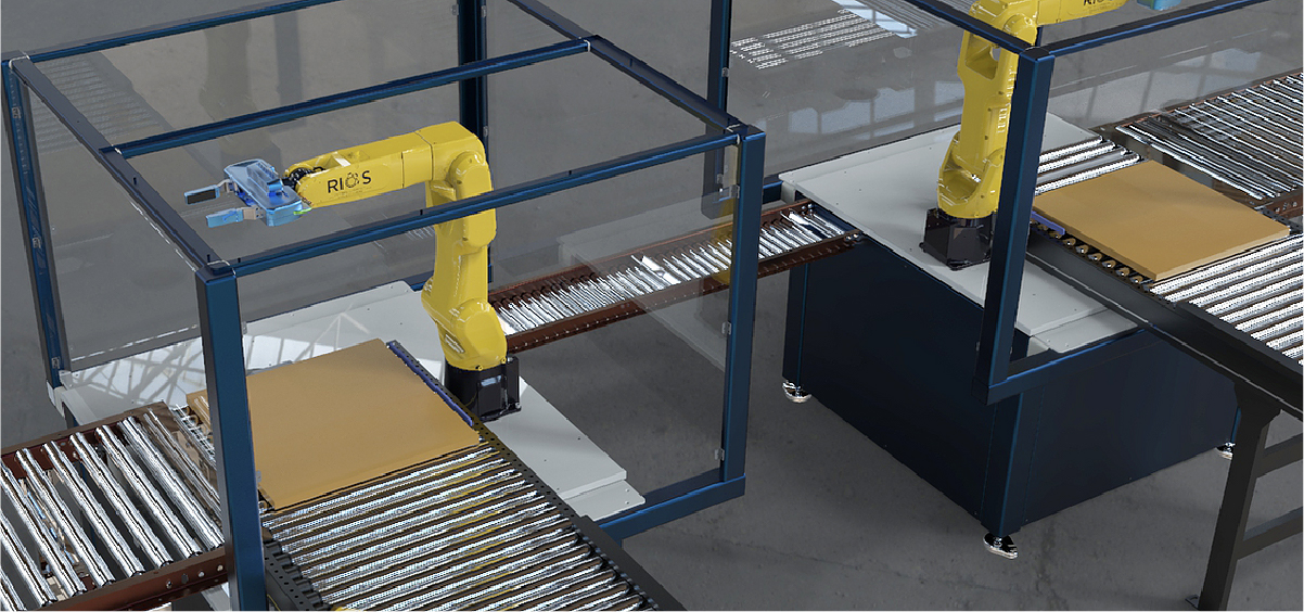 Rios packaging robots working